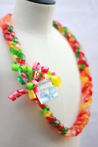 Yummy Gummy Candy Lei Workshop