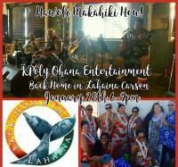 KPoly Ohana Entertainment at Back Home In Lahaina Carson