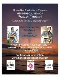 An Intimate Evening with Herb Ohta Jr. & Chris Kamaka Jr.