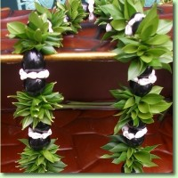 Fresh Ti Leaf & Kukui Nut Lei Workshop