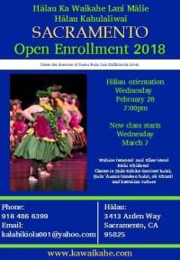 Hālau Ka Waikahe Lani Mālie - Hālau Open Enrollment