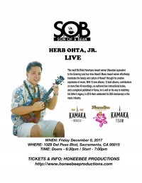 An Evening with Herb Ohta Jr.