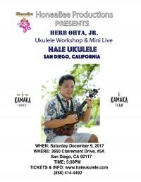 Herb Ohta Jr. Workshop & Mini-Concert