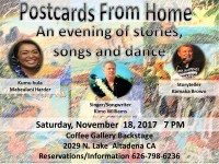 POSTCARDS FROM HOME: A Hawaiian Treat and Festival Of Stories, Song & Dance.