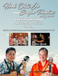 Herb Ohta Jr. w/ Bryan Tolentino and The Side Order Band