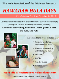 Hawaiian Hula Days with Kumu Sonny Ching, Kumu Lopaka Igarta De-Vera and Kumu Liko Puha