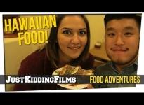 Hawaiian Food! ft. Aloha Cafe - JK Food Adventures