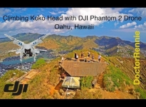 Climbing Koko Crater - Oahu Hawaii in UHD (4K) with DJI Phantom 2 Drone