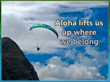 Aloha Lifts Us Up