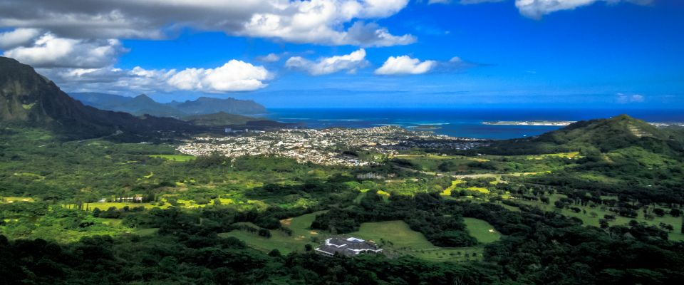 Pali Lookout View